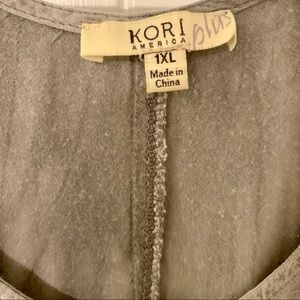 Kori Dresses - Anthropologie Gray Dress